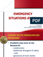 Maritime Emergency Situations at Sea