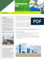 Paqell THIOPAQ O&G Desulphurisation Factsheet