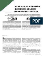 1. Herramientas Para La Gestión de Los Residuos Sólidos en Empresas Hoteleras.