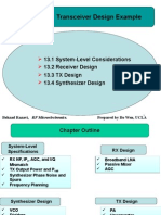 Chapter13 Transceiver Design Example
