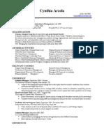 Jobswire.com Resume of crarzola