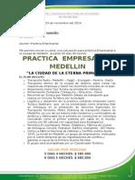 Practica Empresarial Medellin