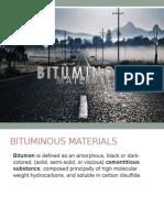 Bitumenous Material