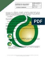 Ogt Pr 01 Procedimiento de Seleccion de Proveedores de Transporte v4