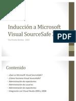 Induccion a Microsoft Visual SourceSafe 2005