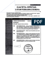 D.S. 2491 modifica el Art. 8 del D.S. 21531 (RC-IVA)