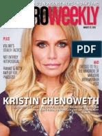 Metro Weekly - 08-27-15 - Kristin Chenoweth