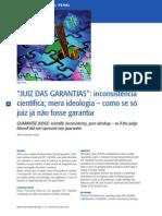 Abel Fernandes Gomes - JUIZ DAS GARANTIAS_ Inconsistência...