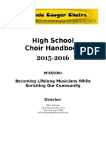 in progress choir handbook