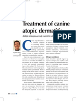 4 2 Treatment of Canine Atopic Dermatitis
