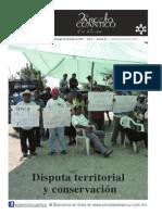 Disputa territorial y conservacion