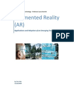 Augmented Reality - Research Paper_TimFalls - 11_2009