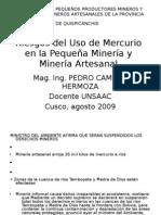 Riesgos del uso de Mercurio en Minería Artesanal