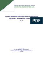 Manual de Empreiteiras Do DEMLURB