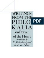 Writings from the Philokalia on Prayer of the Heart