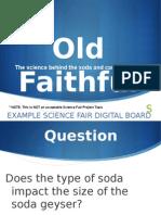 Science Fair Digital Presentation Example