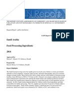 Food Processing Ingredients Riyadh Saudi Arabia 12-30-2014