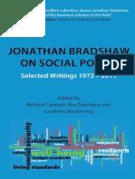 Jonathan Bradshaw on Social Policy