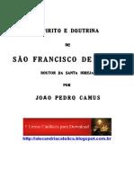 João Pedro Camus_O Espírito e Doutrina de St Fco Sales