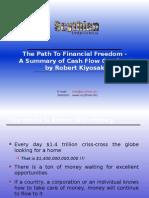 Summary of Robert Kiyosaki's Cash Flow Quadrant Training