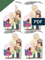 Feliz Dia Abuelitos Recuerdito -Tarjeta 2015