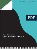 Programm 2007