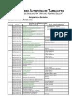 Seriacion de Materias IC