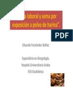 Asma Laboral y Asma Por Exposicin a Polvo de Harina