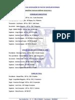 ORGÃOS SOCIAIS FAP 2010-2011