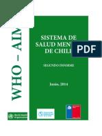 Salud Mental de Chile 2014