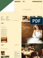 Rutland Hotel Wedding Brochure