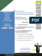 Dossier de presse - Dépôt liste - 130210