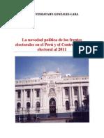 La novedad política de los frentes electorales en el Perú y el Centro Político electoral al 2011