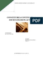 Constituirea Continuata a Societatilor Pe Actiuni