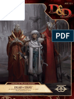 D&d 5th Dreams of the Red Wizard - Dead in Thay