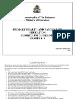HFLE Curriculum Grades 4 - 6 Revised 03 10 12-1