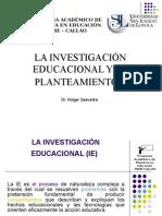 Alainvestigacineducacionalysuplanteamientov2 100314012752 Phpapp02 (1)