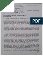 Senador Benjamín Robles presentó ante PGR una denuncia formal contra de Jorge Castillo.