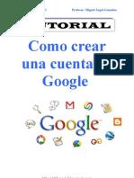 Como Crear Una Cuenta en Google