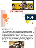 Cultura Afro Esmeraldeña