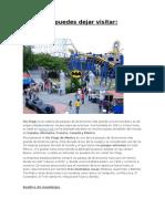 Atractivos Turísticos del Distrito Federal word