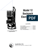 Model 12 Pow Electrofisher Manual
