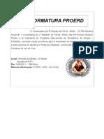Convite PROERD Autoridades 2011