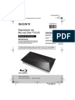 Blueray Sony Bdp s4100