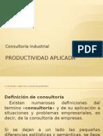 Productividad aplicada- PRESENTACION