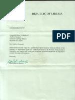 republic of Liberia