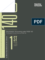 Securitized Accounting - MBS Etc - Fasb140