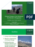 Gender Climate Change in the Himalayas