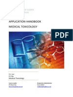 CEM7071 Application Handbook Medical Toxicology
