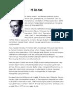 Biografi M Balfas